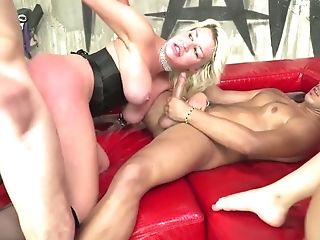Hungarian Hooker Lyen Parker Takes Part In Crazy Gonzo Orgy