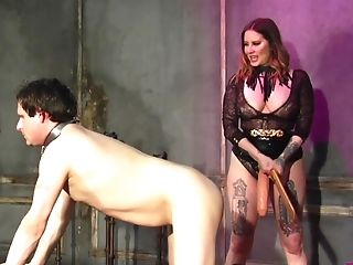 Enslaved Dude Wants To Be Disciplined By Maitresse Madeline Marlowe