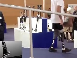 Rak Latina Amputee With Lac Demonstrating Running Blade
