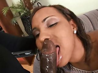 Horny Black Stud Makes Monica Keyys Shriek By Fucking Her Harshly