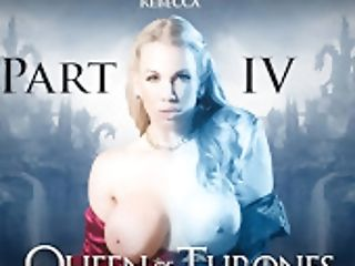 Ella Hughes & Rebecca More & Dorian Del Isla & Pascal Milky & Xander Corvus In Queen Of Thrones: Part Four A Xxx Parody - Brazzersnetw