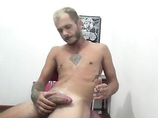 Moving Day Masturbate Off With Smokes