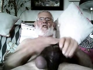 Grand-pa Jizz On Webcam