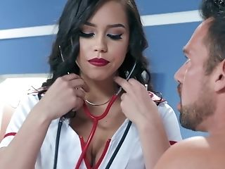 Alina Lopez Is A Ideal Nurse Because Of Figure Shapes And Romp Wishes