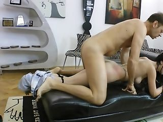 Adorable Hungarian Nubile With Tattoos Fucked From Behind