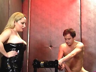 Aiden Starr Torments Plane Chested Lena Starr And A Vulnerable Dude