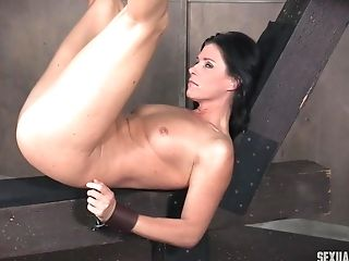 India summer cowgirl riding a big cock while getting her ass fucked hard