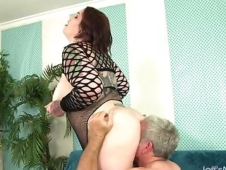 A Man Idolizes A Bbw's Fat Figure And Fucks Her Hard