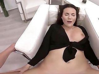 Inexperienced Stunner Vanessa Decker With Amazing Tits Rails A Hard Prick