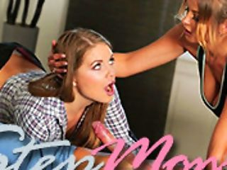 Britney Amber & Carolina Sweets & Codey Steele In Give Me C-o-c-k! - Stepmomlessons