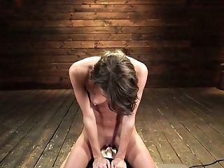 Smoking Hot Emma Hix Is Testing Fresh Sybian Saddle And Crazy Sex Bot