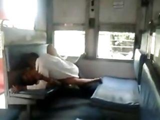 Public Fuck-a-thon In The Train