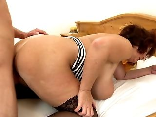 Sonny Wakes Up Huge-boobed Big Mommy Ssbbw