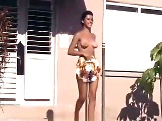 Naked Ladies Having Joy At A Naturist Resort (1960s Antique)
