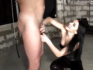Stephanie Is A Perverted Mistress Who Loves Having Joy With The Plums!