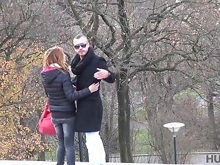 Insane Man Fucks Good-looking Chick Jenifer Crimson For Money