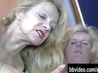 German Lesbo Grannies Fucked Man