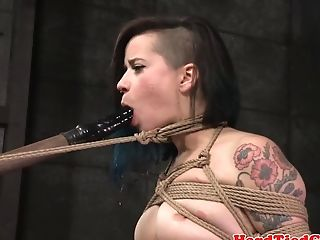 Tattooed Stunner Penalized By Top Master