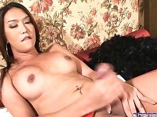Krissy In Sexy Crimson Underwear