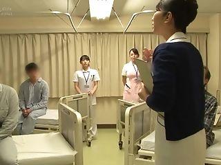 Japanese Hospital Nurse Big Hip Care