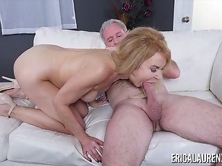 Claudia Valentine Strips And Plays With Her Vulva