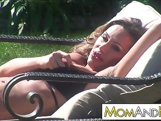 Rich Mom Sky Taylor Cheating The Poolboy While Hubby Is Out