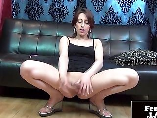 Freshfaced Femboy Strokes And Shows Backside Off