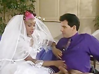Dark-hued Bride Rectal Fucked On The Weeding