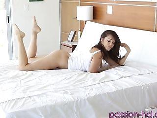 Hefty-titted Holly Michaels Having Joy Having Her Vulva Drained