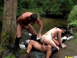 Unafraid Warrior Petra Stingrey Enjoyments Two Spears