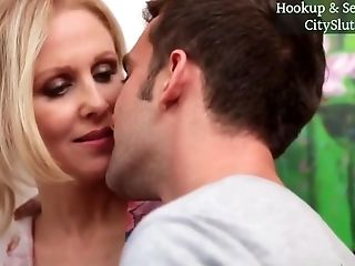 Light-haired Hair Stepmom Julia Ann Hot Bang-out Flick